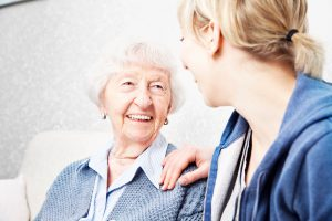 Personal care for older lady
